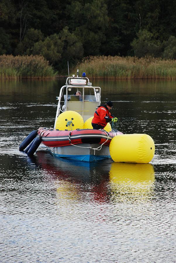 28 сентября в Пярну состоялся первый осенний этап по плаванию в открытой воде