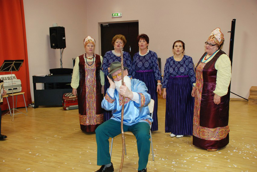 Рождественский праздник пярнуского коллектива