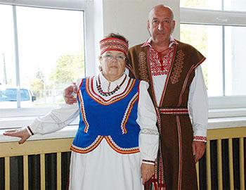 Белорусские костюмы особенно понравились публике