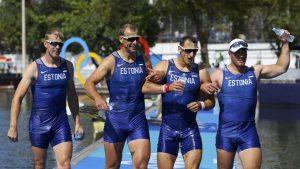 Пярнуские медалисты Рио 2016. Фото: Reuters/Scanpix