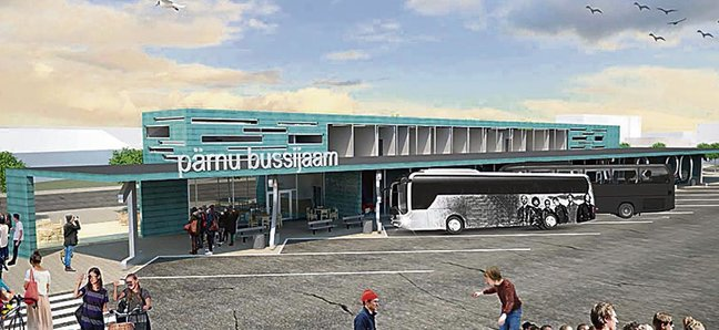 pärnu autobussijaam