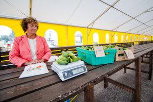 В Пярну заработал зелёный рынок