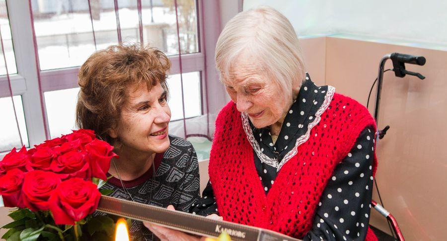 Жительнице Пярну Маире Мидри исполнилось 103 года