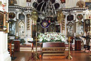 Расписание богослужений в церкви св.Екатерины г.Пярну