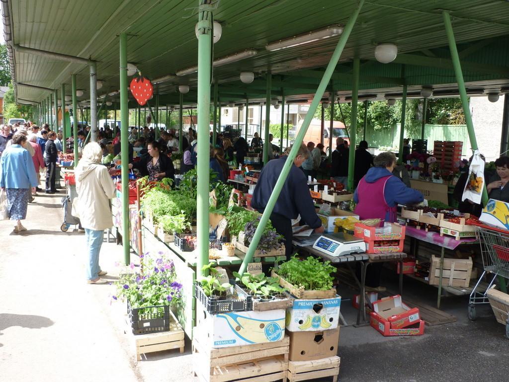 Старый рынок Пярну откроется после реконструкции