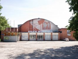 В первом мероприятии спортивного холла «Калев» примет участие «Пярну Садам»