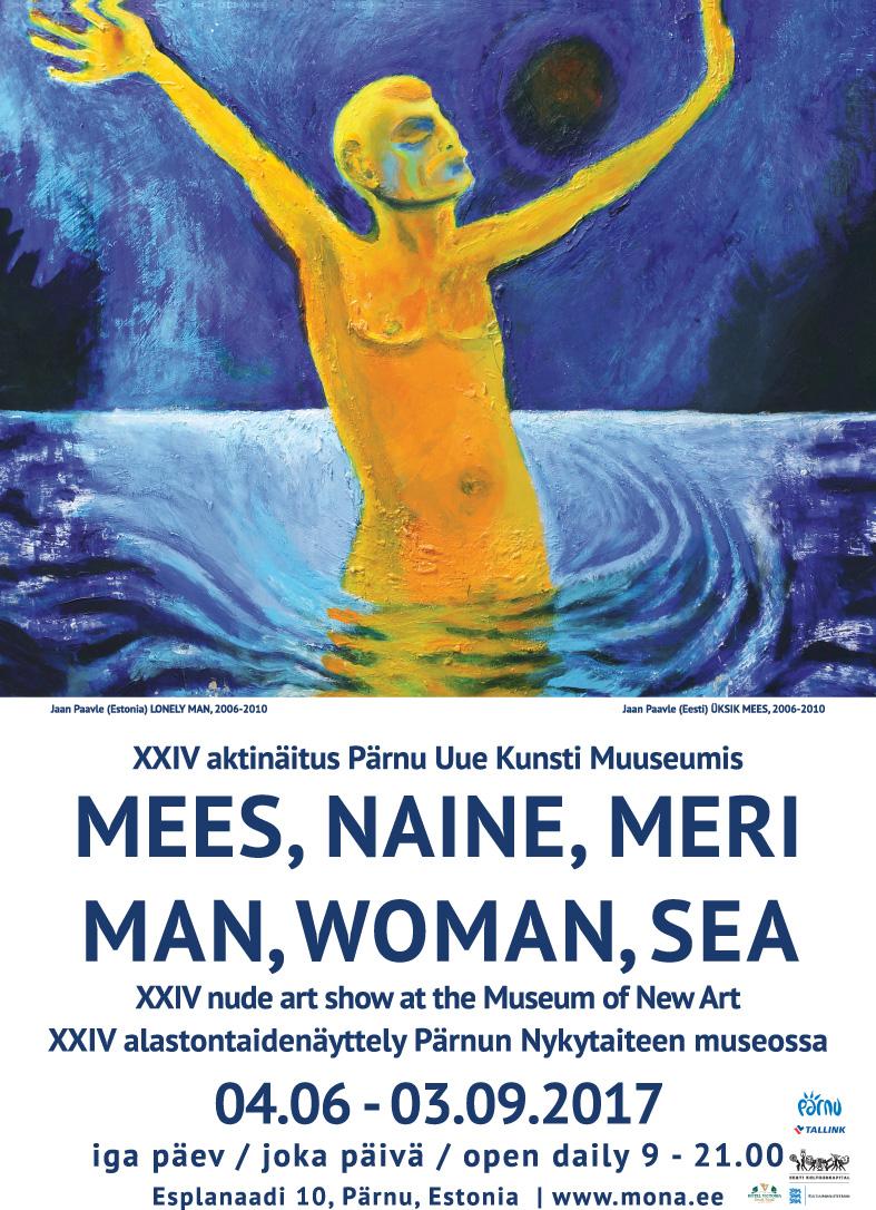 Традиционная выставка «Мужчина и женщина» в Пярну посвящена морским просторам