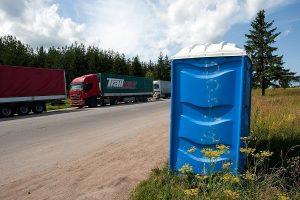 На шоссе Таллинн-Пярну протестируют бесплатные туалеты