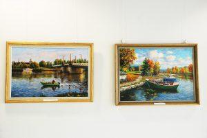 Осенняя выставка Алексея Ястребова